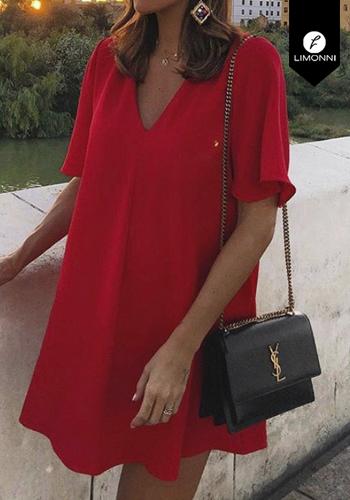 Vestidos para mujer Limonni Claudette LI2278 Cortos Casuales