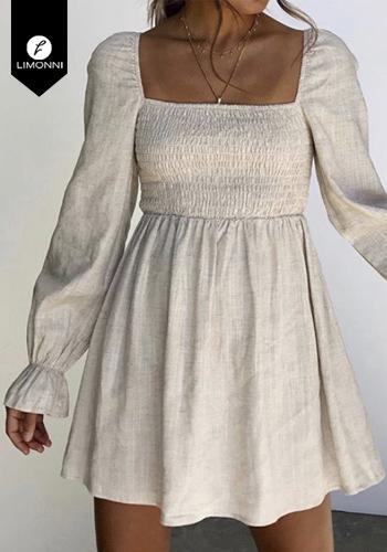 Vestidos para mujer Limonni Claudette LI2279 Cortos Casuales