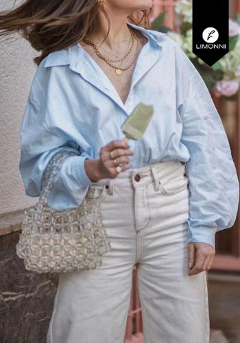 Blusas para mujer Limonni Claudette LI2284 Camiseras