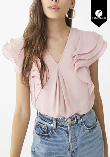 Blusas para mujer Limonni Claudette LI2322 Casuales