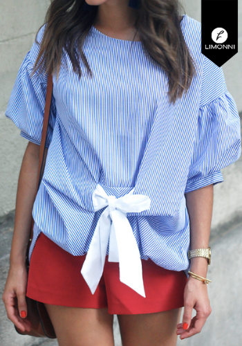 Blusas para mujer Limonni Claudette LI2337 Casuales