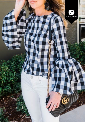 Blusas para mujer Limonni Claudette LI2346 Casuales