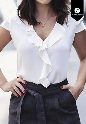 Blusas para mujer Limonni Claudette LI2353 Casuales