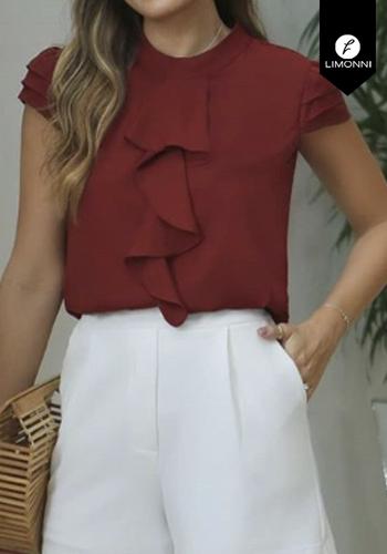 Blusas para mujer Limonni Claudette LI2371 Casuales
