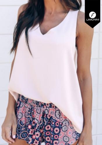 Blusas para mujer Limonni Claudette LI2387 Basicas