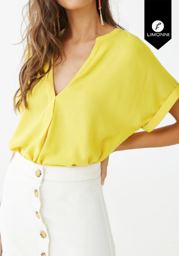 Blusas para mujer Limonni Claudette LI2391 Casuales