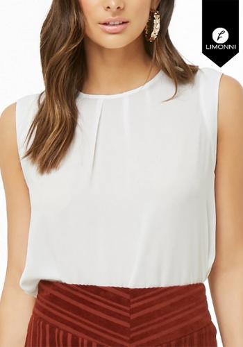 Blusas para mujer Limonni Claudette LI2402 Casuales