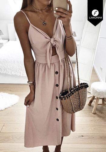 Vestidos para mujer Limonni Claudette LI2409 Maxidress