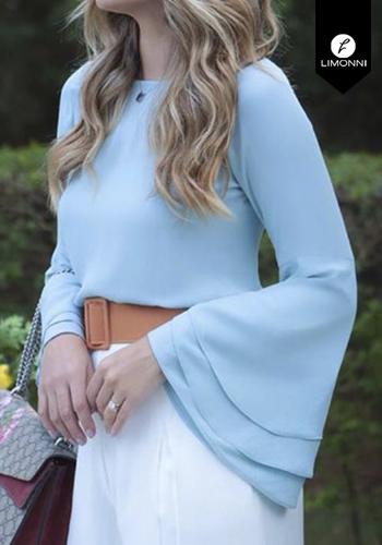 Blusas para mujer Limonni Claudette LI2414 Casuales