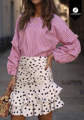 Blusas para mujer Limonni Claudette LI2422 Camiseras
