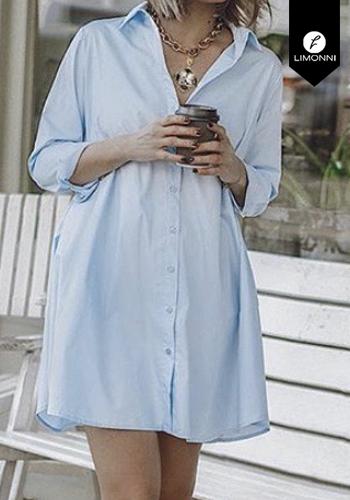 Vestidos para mujer Limonni Claudette LI2427 Cortos Casuales