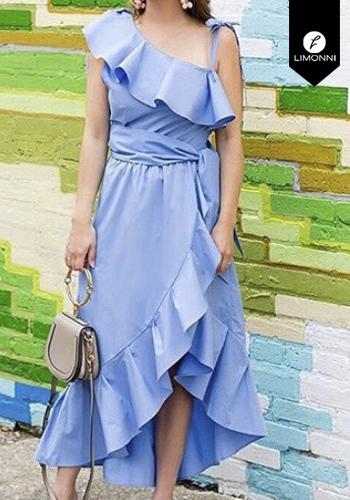 Vestidos para mujer Limonni Claudette LI2436 Maxidress