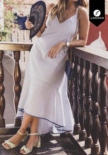 Vestidos para mujer Limonni Claudette LI2438 Maxidress