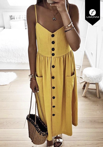 Vestidos para mujer Limonni Claudette LI2444 Maxidress