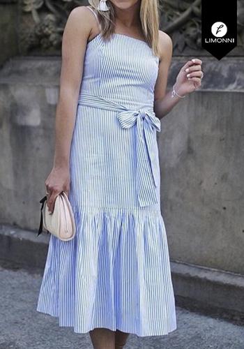 Vestidos para mujer Limonni Claudette LI2445 Maxidress