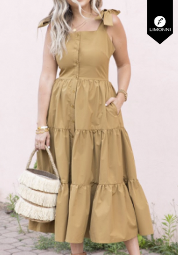 Vestidos para mujer Limonni Claudette LI2449 Maxidress