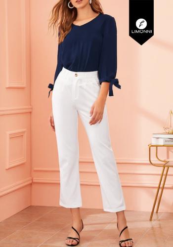 Blusas para mujer Limonni Bennett LI2493 Casuales