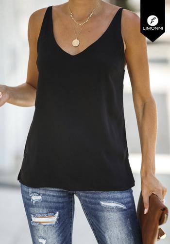 Blusas para mujer Limonni Claudette LI2516 Basicas