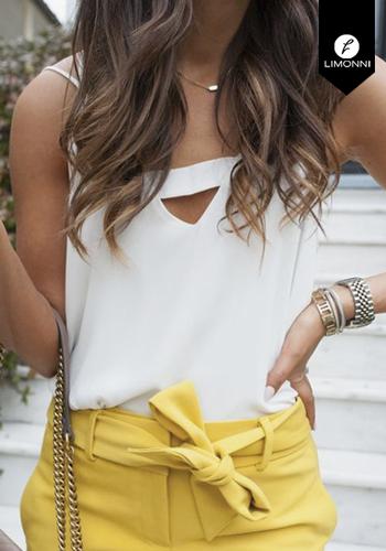Blusas para mujer Limonni Claudette LI2517 Basicas