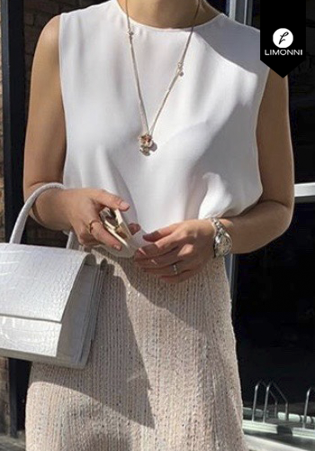 Blusas para mujer Limonni Claudette LI2519 Casuales