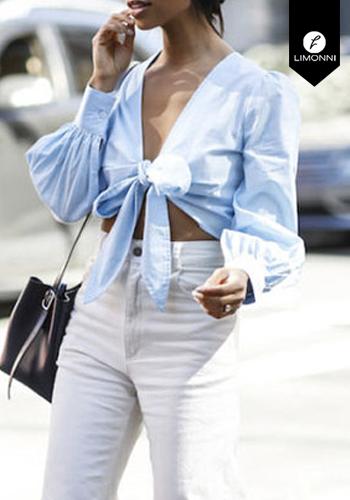 Blusas para mujer Limonni Claudette LI2529 Tops