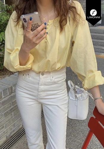 Blusas para mujer Limonni Claudette LI2547 Casuales