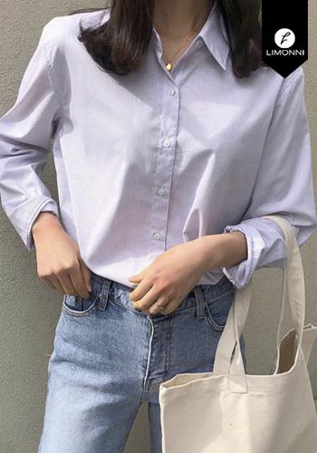 Blusas para mujer Limonni Claudette LI2565 Camiseras