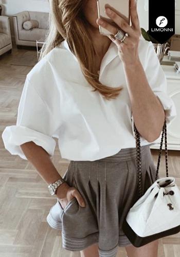 Blusas para mujer Limonni Claudette LI2607 Camiseras