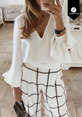 Blusas para mujer Limonni Claudette LI2608 Casuales
