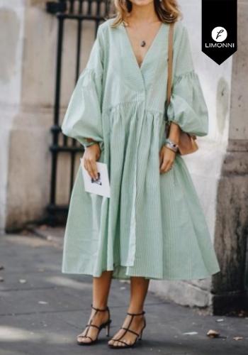 Vestidos para mujer Limonni Claudette LI2630 Maxidress