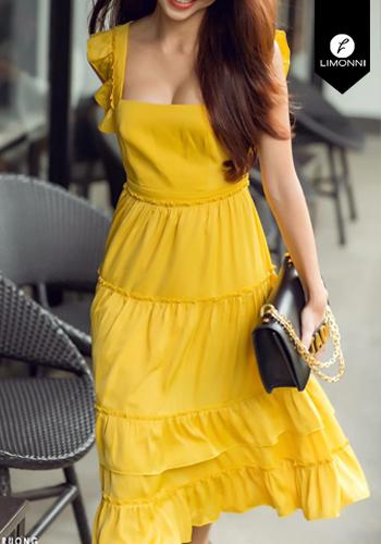 Vestidos para mujer Limonni Claudette LI2635 Maxidress