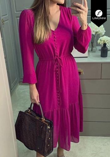 Vestidos para mujer Limonni Claudette LI2673 Cortos Casuales
