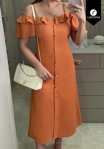 Vestidos para mujer Limonni Claudette LI2675 Maxidress