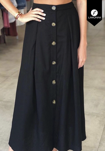 Faldas para mujer Limonni Claudette LI2676 Largos elegantes