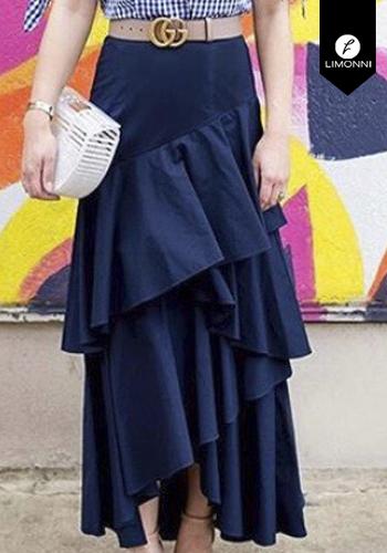 Faldas para mujer Limonni Claudette LI2678 Largos elegantes
