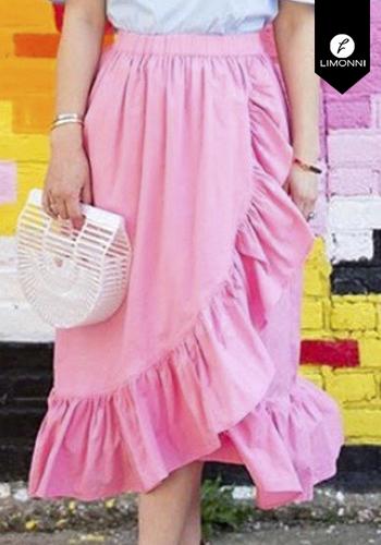 Faldas para mujer Limonni Claudette LI2679 Cortos Casuales