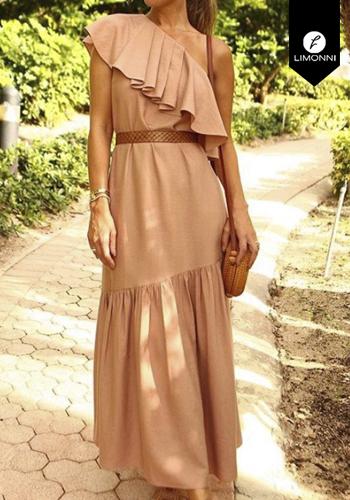 Vestidos para mujer Limonni Claudette LI2689 Maxidress