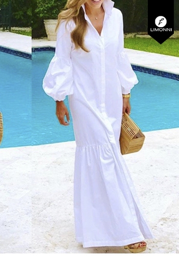 Vestidos para mujer Limonni Claudette LI2690 Maxidress