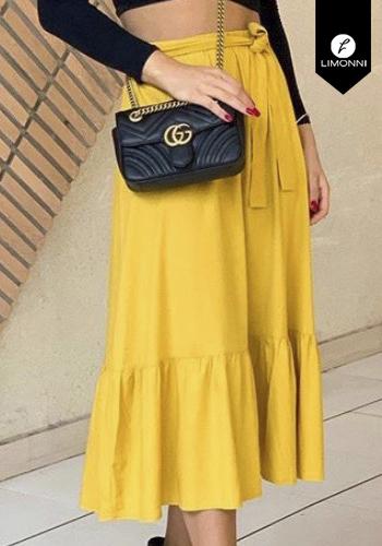 Faldas para mujer Limonni Claudette LI2695 Largos elegantes