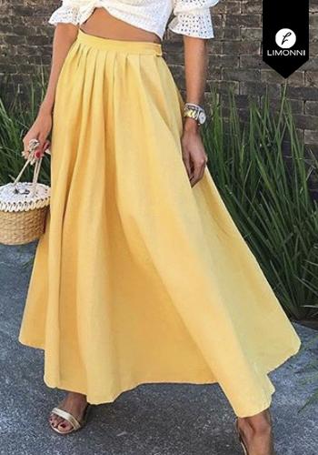 Faldas para mujer Limonni Claudette LI2697 Largos elegantes