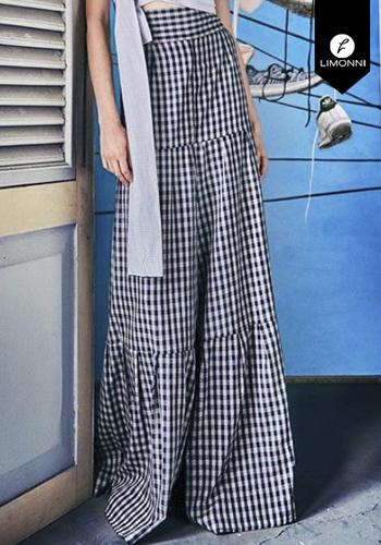 Faldas para mujer Limonni Claudette LI2698 Largos elegantes