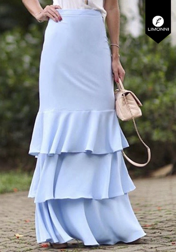 Faldas para mujer Limonni Claudette LI2699 Largos elegantes