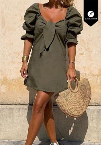 Vestidos para mujer Limonni Claudette LI2710 Cortos Casuales