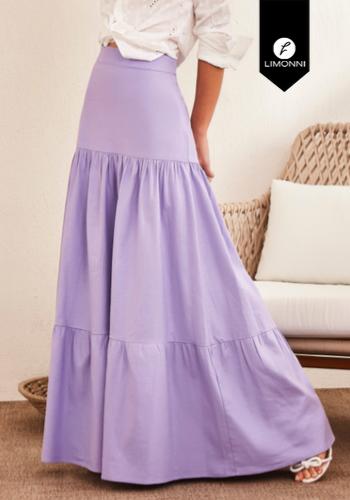 Faldas para mujer Limonni Claudette LI2711 Largos elegantes