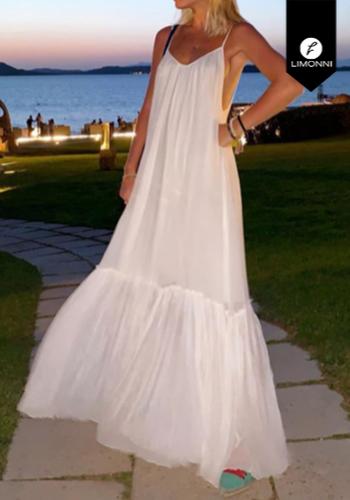 Vestidos para mujer Limonni Claudette LI2712 Maxidress