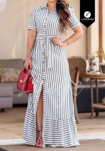 Vestidos para mujer Limonni Claudette LI2724 Maxidress