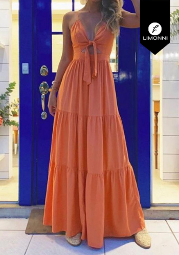 Vestidos para mujer Limonni Claudette LI2726 Maxidress