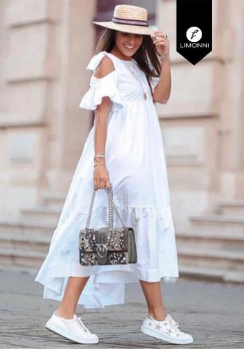 Vestidos para mujer Limonni Claudette LI2732 Maxidress