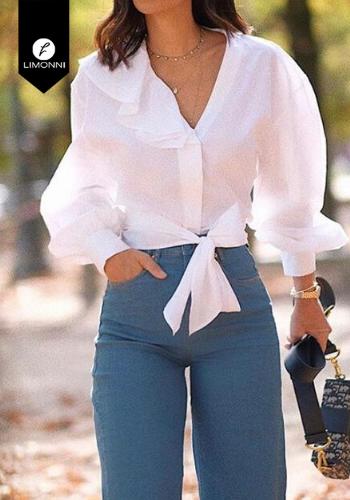 Blusas para mujer Limonni Claudette LI2735 Camiseras