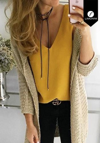 Blusas para mujer Limonni Claudette LI2738 Basicas